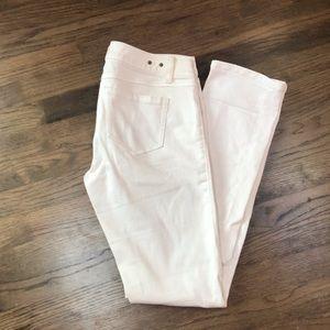 white jeans, straight leg